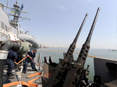 Russia warns NATO over build-up of warships in Black Sea