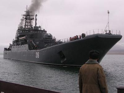 Russian warships set sail to Mediterranean amid possible Syria evacuation