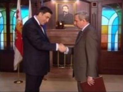 Russian ambassador to Georgia presents his credentials