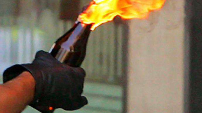 Russian embassy in Belarus attacked with petrol bombs