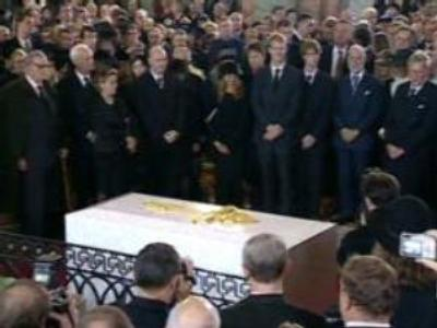 Russian empress is laid to rest
