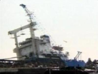 Russian fishing-boat in trouble off East Kamchatka