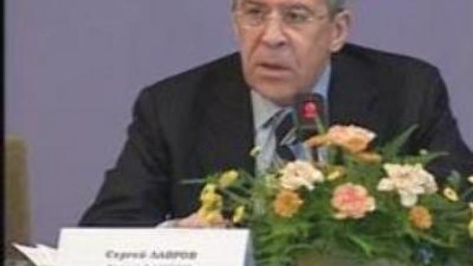 Russian Foreign Minister calls for multilateral approach