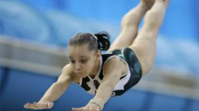 Russian gymnast grabs all-around gold at European championship