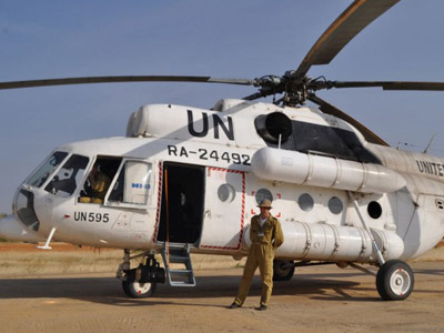 At least 4 dead as Russian helicopter shot down by South Sudanese armed forces
