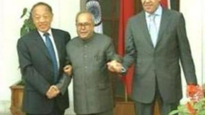 Russian, Indian and Chinese FMs meet in New Delhi