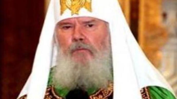 Russian Orthodox Church Patriarch addresses congregation