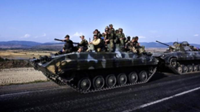 Russian peacekeepers to patrol security zones in Ossetia