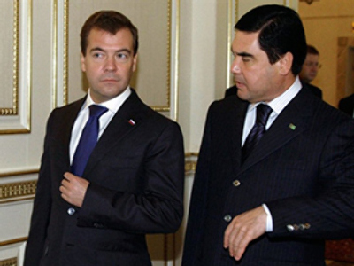 Energy co-operation on table at Russian-Turkmen talks