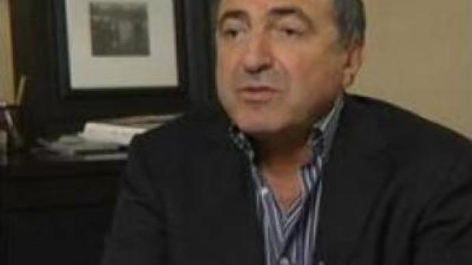 Russian Prosecutor's office suspends coup case against Berezovsky