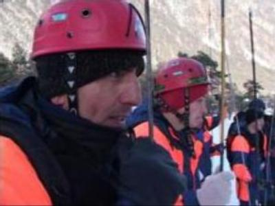 Russian rescuers celebrate professional holiday