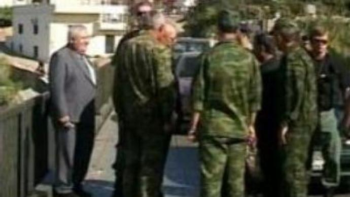 Russian soldiers help rebuild destroyed infrastructure in Lebanon