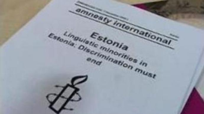 Russian speakers discriminated in Estonia: Amnesty International