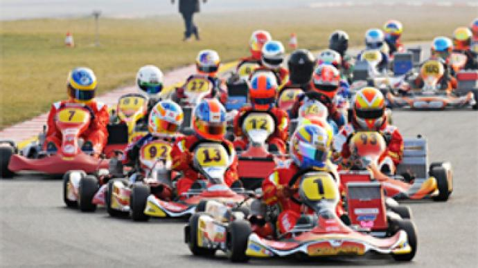 Russian youngster wins karting winter cup