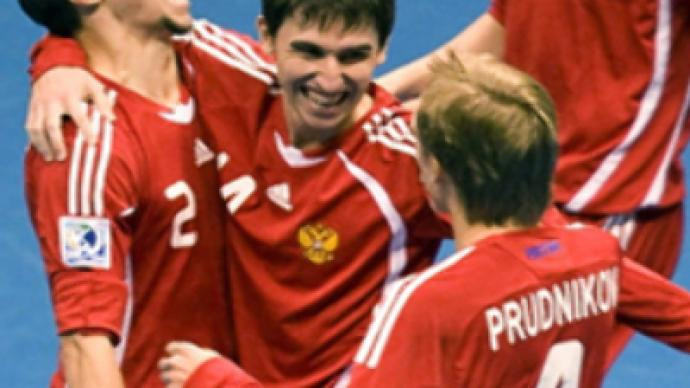Russia's footballers climb rankings