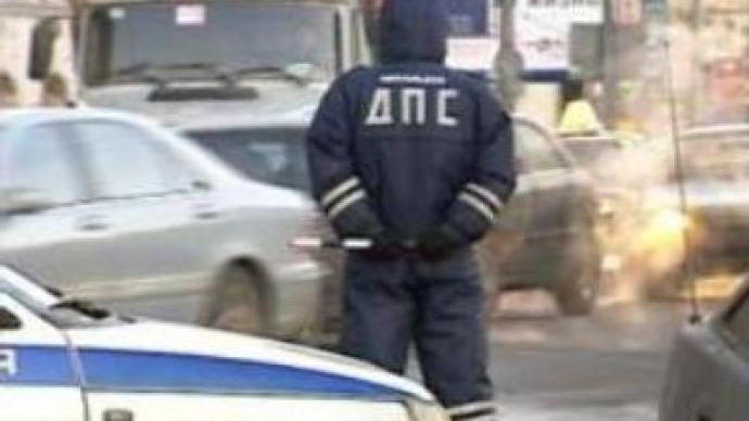 Russia's road police investigated for alleged corruption