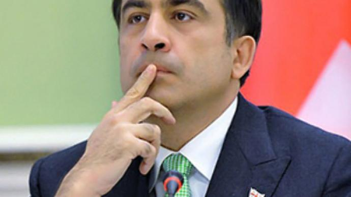 "Saakashvili tailors ""racist"" remark"