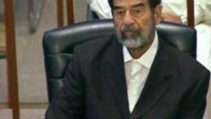 Saddam Hussein in hospital