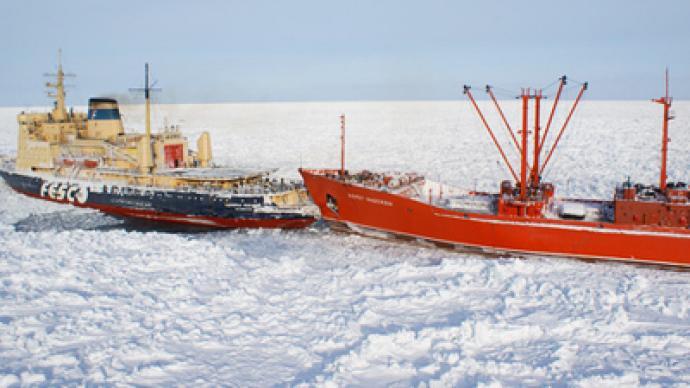 Icy saga in Sea of Okhotsk nears end