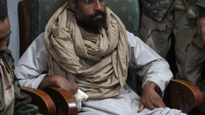 Saif al-Islam Gaddafi 'determined to defend himself – like Milosevic'