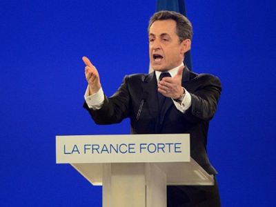 'Right-wing rhetoric': Sarkozy hunts for 'euro-skeptic' votes