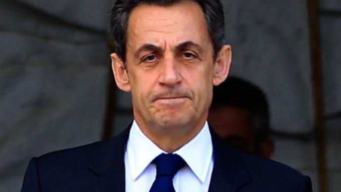 Sarkozy urges Libyan scenario in Syria