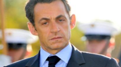 Don't touch me, Sarkozy - Merkel