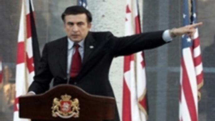 Schroeder blames 'gambler' Saakashvili for conflict