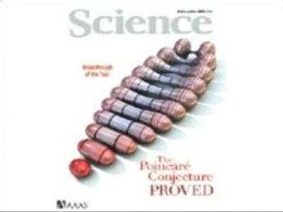 """Science"" magazine honours Russian mathematician"