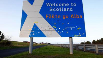 A million-strong task: Scots push for UK breakup