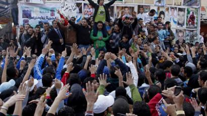 Thousands march in Egypt's Port Said demand 'retribution' for riot deaths