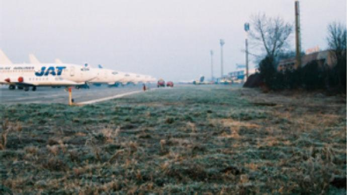 Serbian airport cleared by Russian mine sweepers