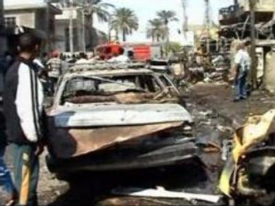 Series of blasts kill more than 100 in Iraq