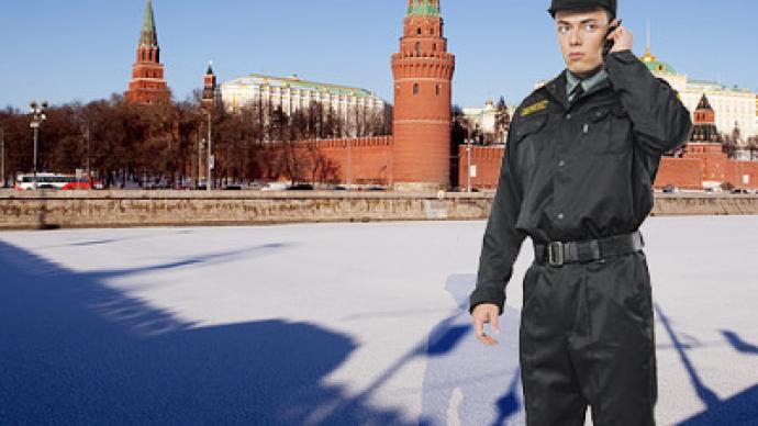 Secret service eliminates 2-meter-long threat to Kremlin
