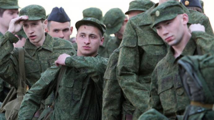 Serving to death in the Russian army