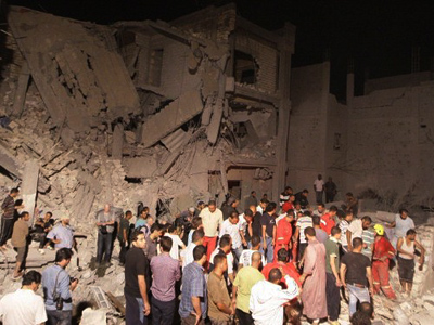 Tripoli bombings hit Britons' in the wallet