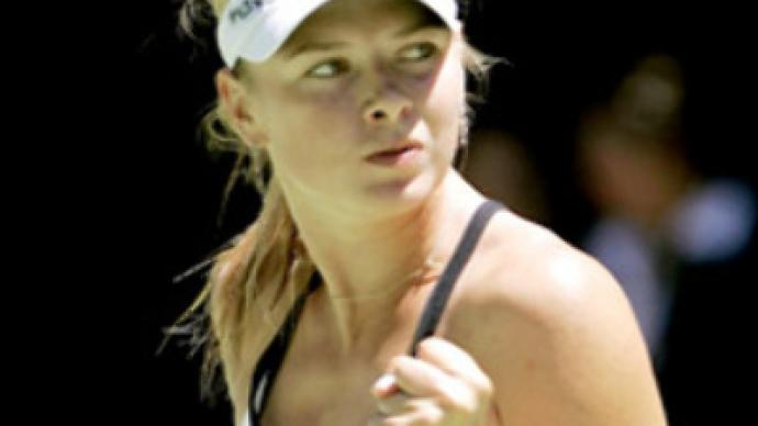Sharapova plays Venus Williams at Wimbledon