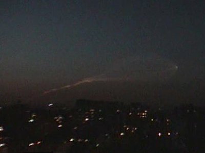 UFO or missile? Mystery lights raise havoc in Israel (VIDEO, PHOTOS)
