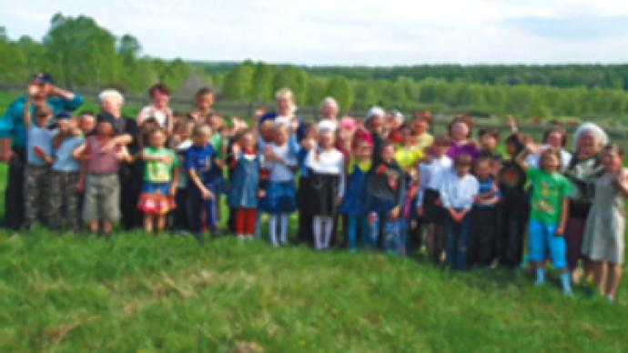 Siberian villagers adopt 47 kids