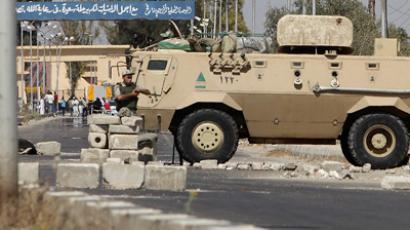 Egyptian helicopters assault Sinai Islamist bases