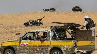 Rebels assault pro-Gaddafi strongholds