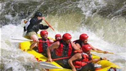Kayaking champ in search of his River God