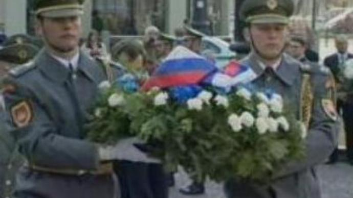 Slovakia remembers fallen Red Army soldiers