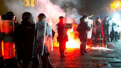 Scores injured in anti-austerity Slovenia clashes (PHOTOS)