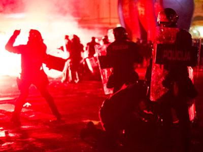 Scores injured in anti-austerity Slovenia clashes (PHOTOS)