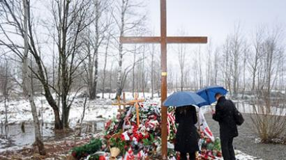 Russia and Polish leaders commemorate memory of deadly flight victims