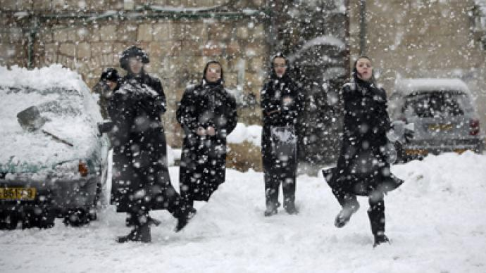 Snow scares: IDF urges avoidance of Golan minefields after worst storms in decades