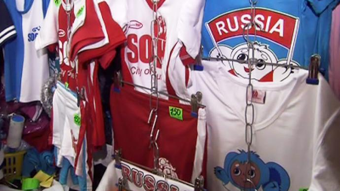Bootleggers capitalize on Sochi Olympics