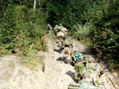 Soldier wounded on reconnaissance mission in Chechnya
