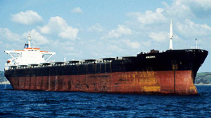 Somali pirates torturing captured Ukrainian sailors